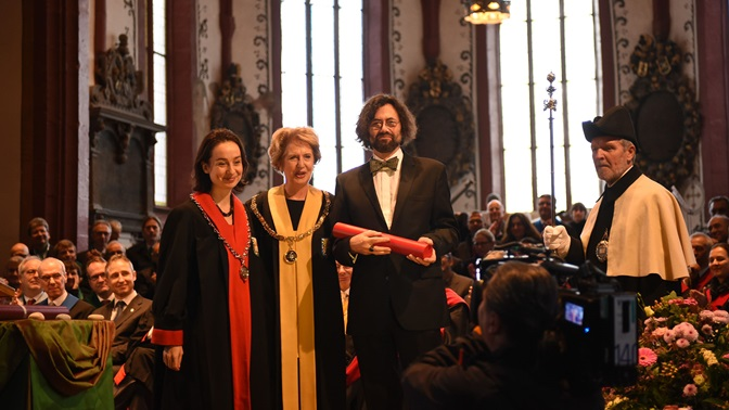 Honorary Doctorate for Thomas Geiser