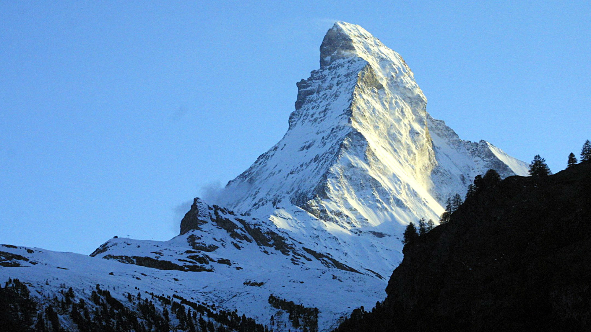 Tourism in Switzerland: Matterhorn Mountain