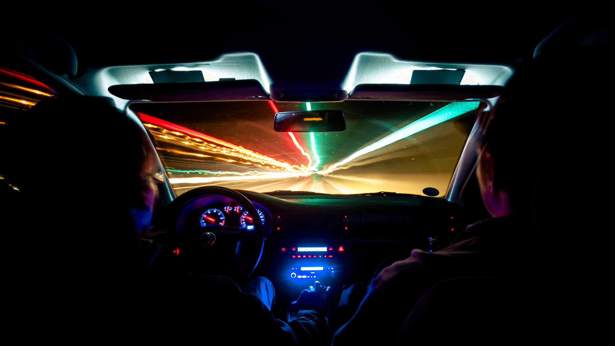 Driving by night