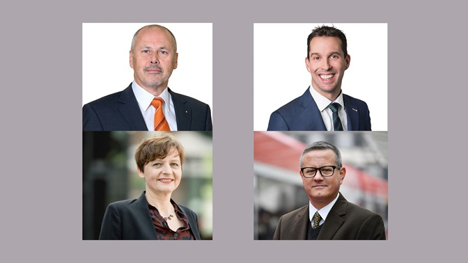 The Cantonal Council elected Beat Eberle, Michael Götte, Regula Mosberger and Patrick Ziltener as new members of the Board of Governors..