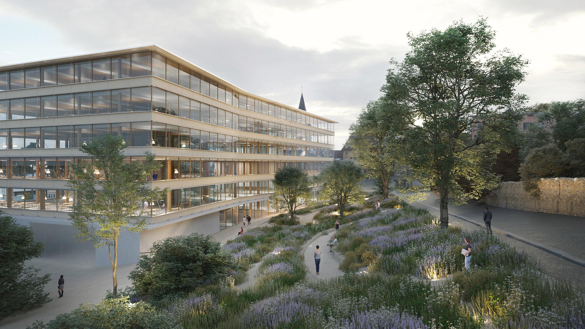 Neubau Campus Platztor der Universität St.Gallen