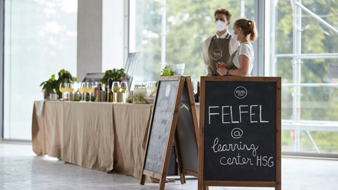 """SG- Startup """"FELFEL"""" will enrich the HSG Learning Center with culinary delights"""
