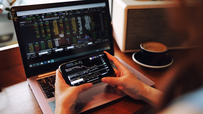 Trading apps tempt to risky investment behaviour