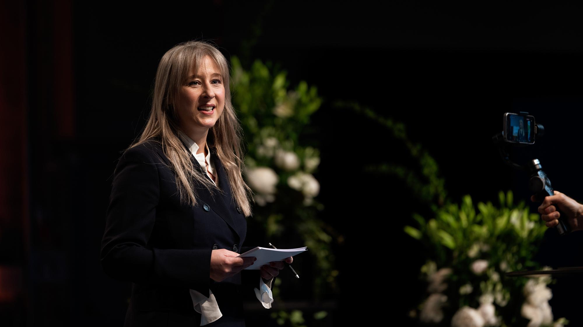 Odilia Hiller am EcoOst St.Gallen Symposium 2021