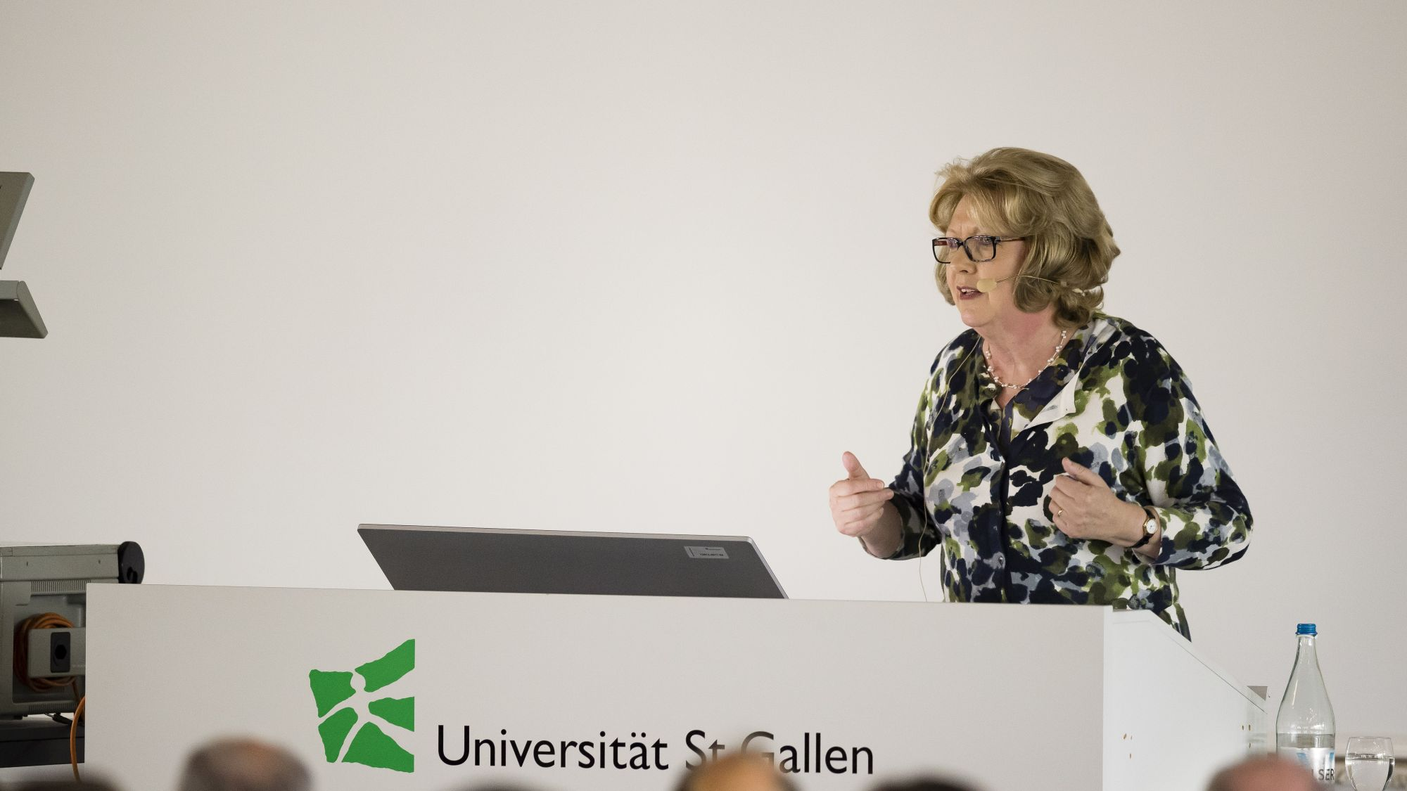 Prof. Mary McAleese's speech to HSG students and Law School faculty members as well as guests