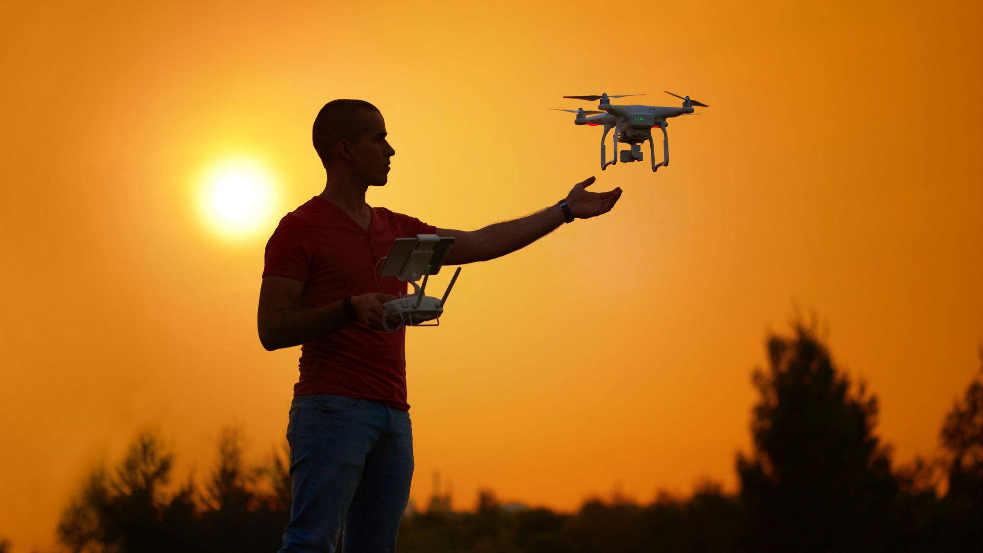 Regulations on civilian drones: Hobby pilot with a multicopter