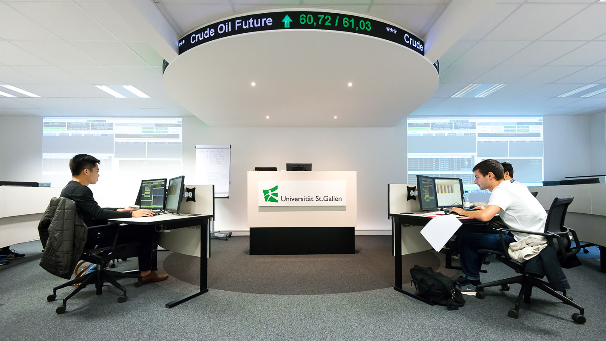 University of St.Gallen's Trading Room