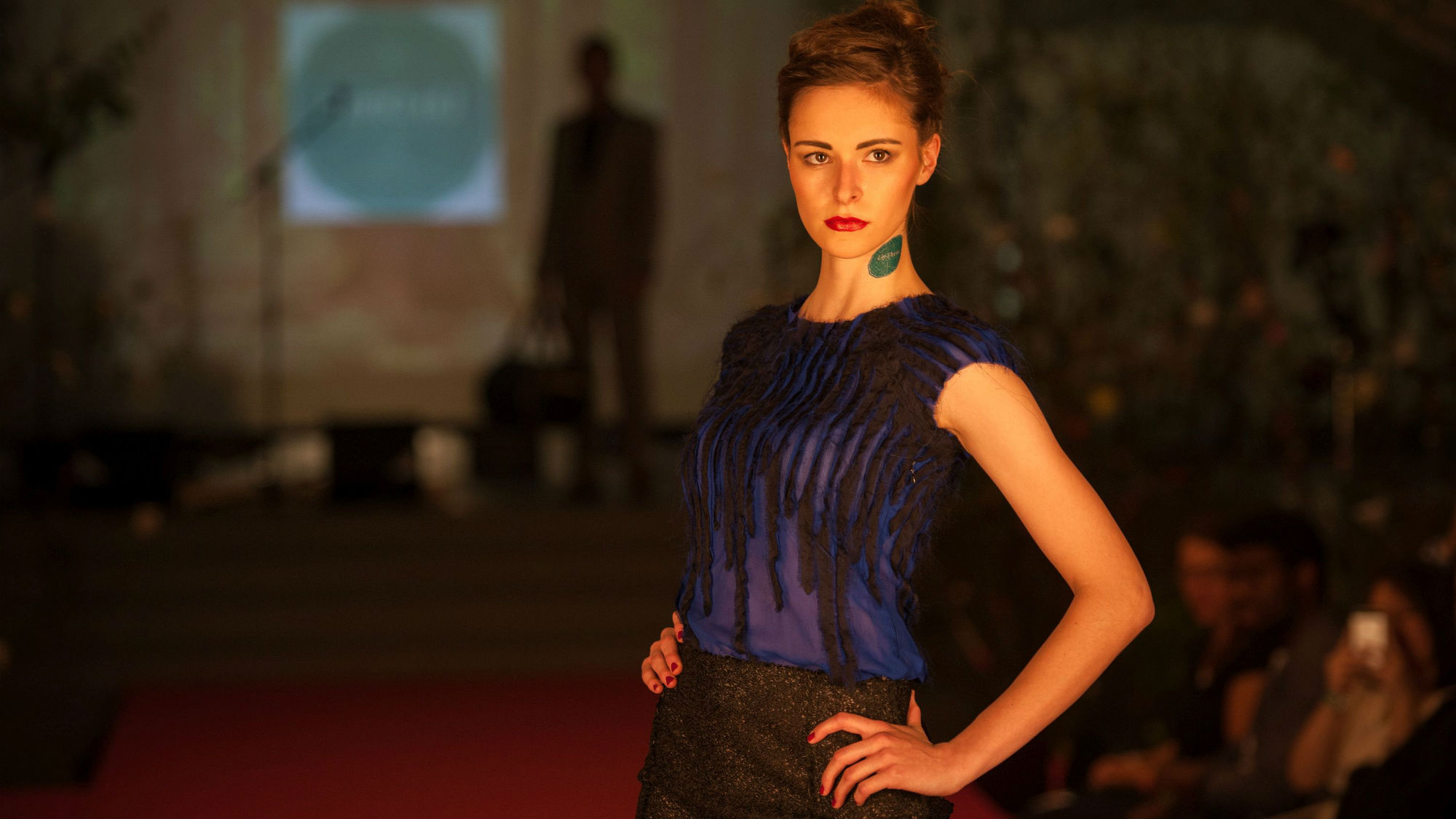 HSG students show sustainable fashion on the catwalk