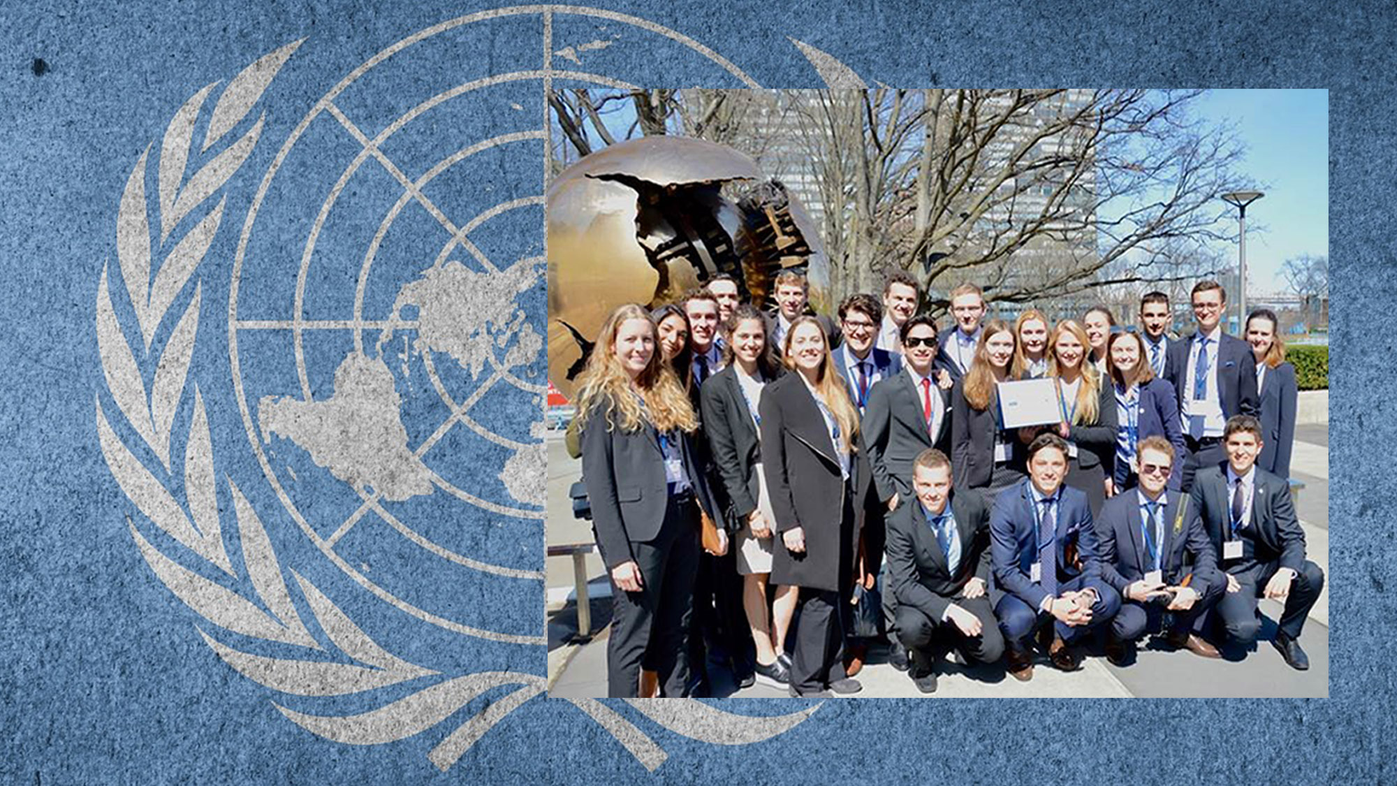 24 studentes of the University of St.Gallen at the National Model United Nations